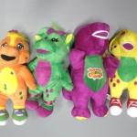 ตุ๊กตา Barney ครบชุด 4 ตัว ขนาด 12 นิ้ว