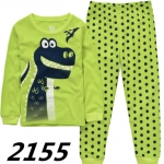 WU533-เสื้อ+กางเกง 6ชุด/แพค ไซส์ 90 100 110 110 120 130