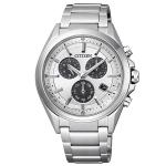 นาฬิกาผู้ชาย Citizen Eco-Drive รุ่น BL5530-57A, Attesa Titanium Chronograph