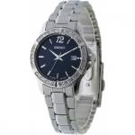 นาฬิกาผู้หญิง Seiko รุ่น SUR719P1, Analog Quartz Diamond
