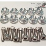 Frame Block Bolt Set for T-Rex700, 600, 600E