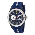 นาฬิกาผู้ชาย Ferrari รุ่น 0830436, Red Rev-T