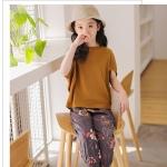 GG108 - เสื้อ+กางเกง 5 ตัว/แพค ไซส์ 120-160