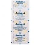 ยาเม็ดลดกรดในกระเพาะอาหาร Antacil ชนิดแผง ยาเม็ดลดกรดในกระเพาะอาหาร แอนตาซิล