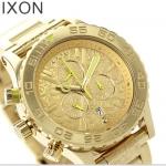 นาฬิกาผู้ชาย Nixon รุ่น A0371902, 42-20 CHRONO Gold Neon Yellow Beetle point