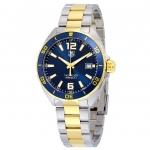 นาฬิกาผู้ชาย Tag Heuer รุ่น WAZ1120.BB0879, Formula 1 Navy Blue Dial Two-tone Quartz 200M