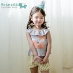 BZ264-เสื้อ+กางเกง 5 ตัว/แพค ไซส์ 90 100 100 110 110