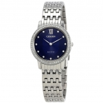 นาฬิกาผู้หญิง Citizen Eco-Drive รุ่น EX1480-58L, Silhouette Crystal Women's Watch