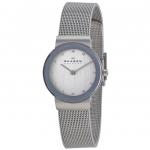 นาฬิกาผู้หญิง Skagen รุ่น 358SSSD, Freja Swarovski Mesh Bracelet Women's Watch