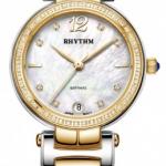 นาฬิกาผู้หญิง Rhythm รุ่น L1504S03, Diamond Sapphire L1504S 03, L1504S-03