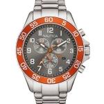 นาฬิกาผู้ชาย Nautica รุ่น NAI17511G, Quartz Chronograph Grey Dial