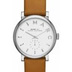 นาฬิกาผู้หญิง Marc By Marc Jacobs รุ่น MBM1265, Baker White Dial Leather