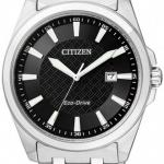 นาฬิกาข้อมือผู้ชาย Citizen Eco-Drive รุ่น BM7101-56E, Sapphire Japan 100m Black Dial
