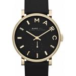 นาฬิกาผู้หญิง Marc By Marc Jacobs รุ่น MBM1269, Baker Black Dial Leather Band