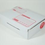 กล่องไปรษณีย์ขาวไดคัท ก จำนวน 1 ใบ