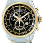 นาฬิกาผู้ชาย Citizen รุ่น AT2134-82E, Eco-Drive 100m Chronograph Watch