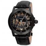 นาฬิกาผู้ชาย Stuhrling Original รุ่น 228.33551, Symphony Saturnalia Brumalia Mechanical Hand-wind Skeleton Black Men's Watch
