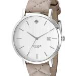 นาฬิกาผู้หญิง Kate Spade รุ่น 1YRU0846, New York Metro Quartz Silver Dial Leather Strap