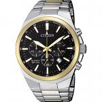 นาฬิกาผู้ชาย Citizen รุ่น AN8174-58E, Chronograph Tachymeter Quartz Stainless Steel Men's Watch