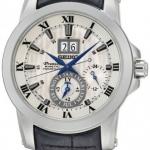 นาฬิกาข้อมือผู้ชาย Seiko รุ่น SNP115P1, Premier Kinetic Perpetual Calendar Sapphire