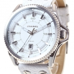 นาฬิกาผู้ชาย Diesel รุ่น DZ1755, Rollcage Analog Casual White Watch