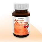 Vistra Acerola Cherry 1000 mg ขนาด 100 แคปซูล วิตามินซี
