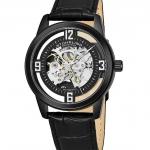 นาฬิกาผู้ชาย Stuhrling Original รุ่น 877.06, Winchester Automatic Skeleton Leather Strap Men's Watch