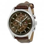นาฬิกาผู้ชาย Tommy Hilfiger รุ่น 1791126, Charlie Multi-Function Brown Dial Brown Leather