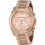 นาฬิกาผู้หญิง Michael Kors รุ่น MK5263, Rose Gold Blair Chronograph Quartz Women's Watch