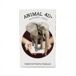 Flash Card Animal4D+ แฟลชการ์ด 4มิติ สวนสัตว์ A-Z 26 ใบ