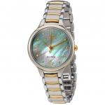 นาฬิกาผู้หญิง Citizen Eco-Drive รุ่น EM0554-58N, Citizen L Mother Of Pearl Dial Two Tone Women's Watch