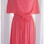 Sold Vintage cape dress