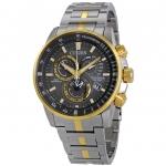 นาฬิกาผู้ชาย Citizen Eco-Drive รุ่น AT4124-51H, PCAT Chronograph Grey Dial Perpetual Calendar