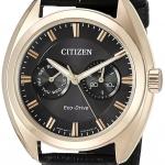 นาฬิกาผู้ชาย Citizen Eco-Drive รุ่น BU4013-07H, Paradex Leather Men's Watch