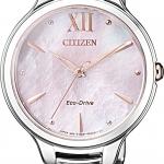 นาฬิกาผู้หญิง Citizen Eco-Drive รุ่น EM0558-81Y, Citizen L Mother Of Pearl Ladies Watch