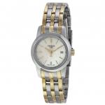 นาฬิกาผู้หญิง Tissot รุ่น T0332102211100, Classic Dream Mother of Pearl Dial