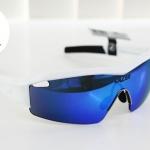 SS1 - Gloss White - แว่นตาจักรยาน LAZER