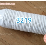 กระทงจีบ กระทงขาว กระดาษ 3219 สีขาว 800ใบ