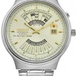 นาฬิกาผู้ชาย Orient รุ่น FEU00002CW, Automatic 21 Jewels Multi Year Calendar