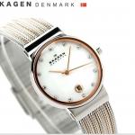 นาฬิกาผู้หญิง Skagen รุ่น 355SSRS, Ancher Quartz Diamonds