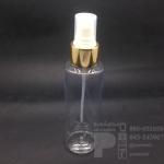 ขวด SA 120 ml ใส+สเปรย์ทอง แพคละ 10 ชิ้น