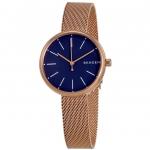 นาฬิกาผู้หญิง Skagen รุ่น SKW2593, Signature Rose Gold Tone Quartz Women's Watch
