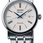 นาฬิกาผู้ชาย Seiko รุ่น SRPA17J1, Premier Automatic Sapphire 100m