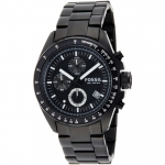 นาฬิกาผู้ชาย Fossil รุ่น CH2601, Chronograph Black Ion-plated