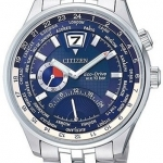 นาฬิกาข้อมือผู้ชาย Citizen Eco-Drive รุ่น BR0015-52L, Sapphire Japan Retrograde