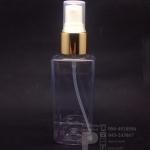 SB120 ml ใส+สเปรย์ทอง แพคละ 10 ชิ้น
