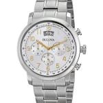 นาฬิกาผู้ชาย Bulova รุ่น 96B201, Chronograph Silver Dial