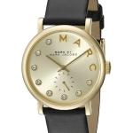 นาฬิกาผู้หญิง Marc By Marc Jacobs รุ่น MBM1399, Baker Quartz Gold Tone Crystals