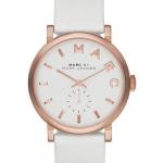 นาฬิกาผู้หญิง Marc By Marc Jacobs รุ่น MBM1283, Baker White Dial Leather