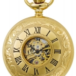 นาฬิกาพกพา Charles-Hubert รุ่น 3536, Mechanical Gold Tone